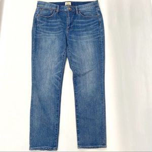 J. Crew Slim Broken In Boyfriend Jeans 29